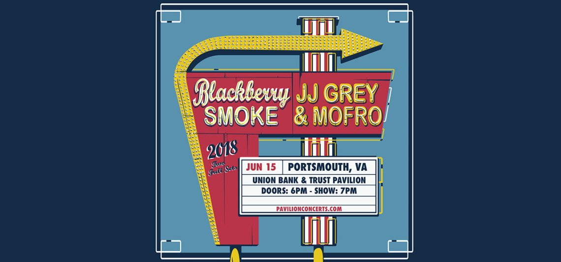 Blackberry Smoke and JJ Grey & Mofro