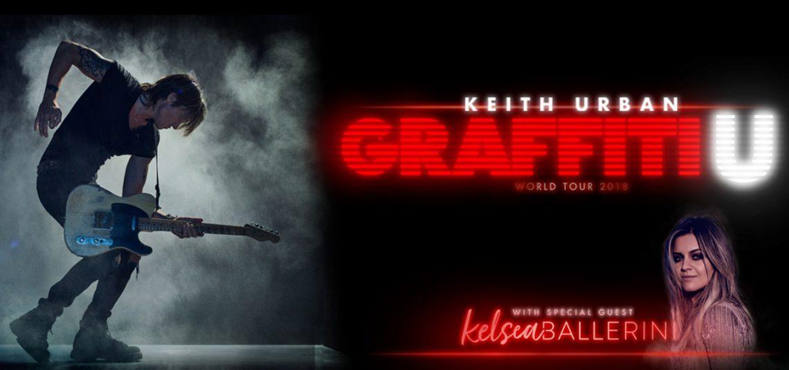 Keith Urban: Graffiti U World Tour featuring Kelsea Ballerini