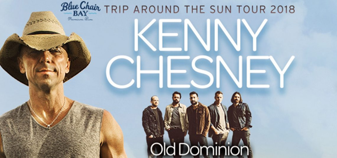Kenny Chesney: Trip Around the Sun Tour featuring Old Dominion