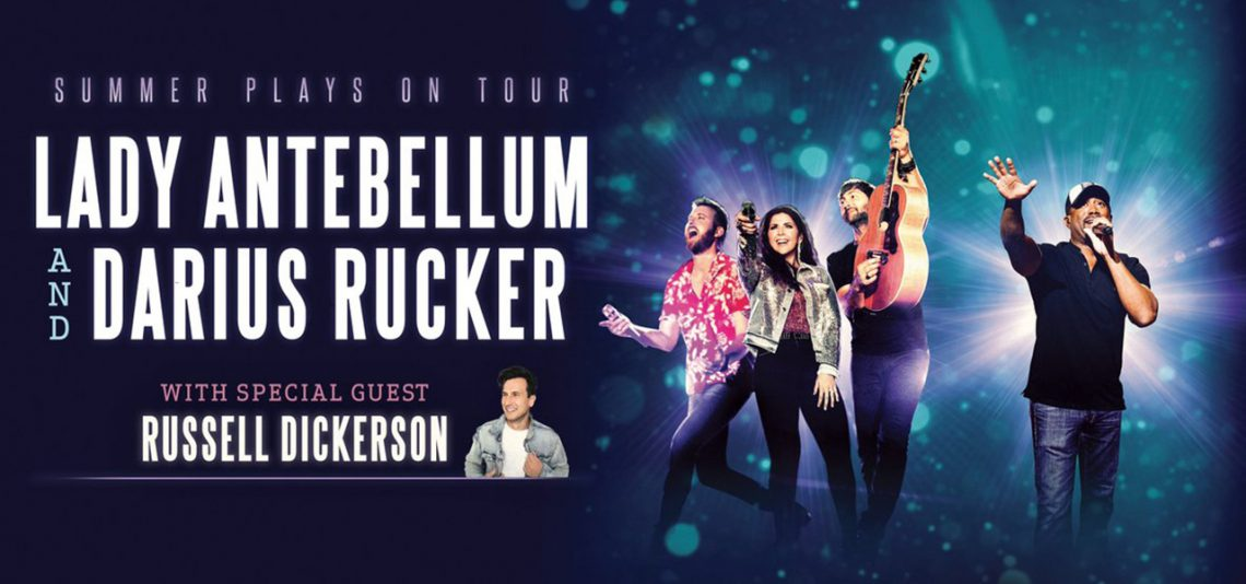 Lady Antebellum & Darius Rucker Summer Plays On Tour featuring Russell Dickerson