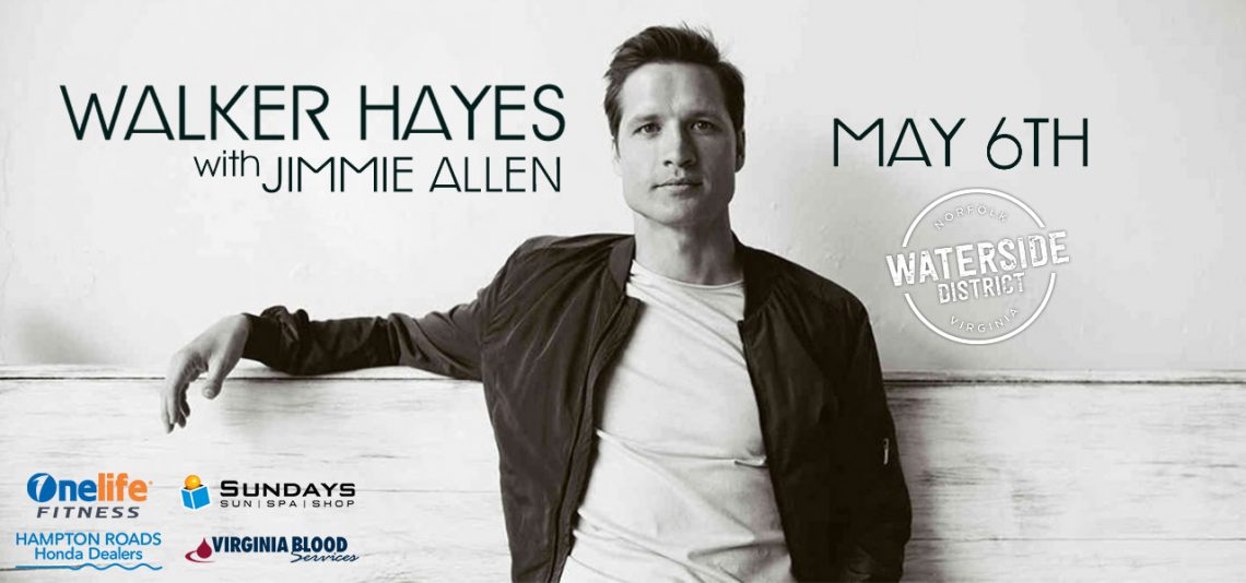 US1061 presents Walker Hayes and Jimmie Allen
