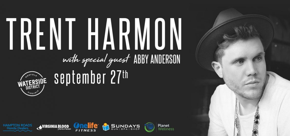 US1061 presents Trent Harmon with Abby Anderson
