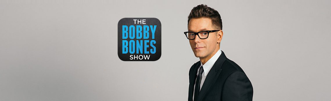 Mason Ramsey in the Bobby Bones Studio