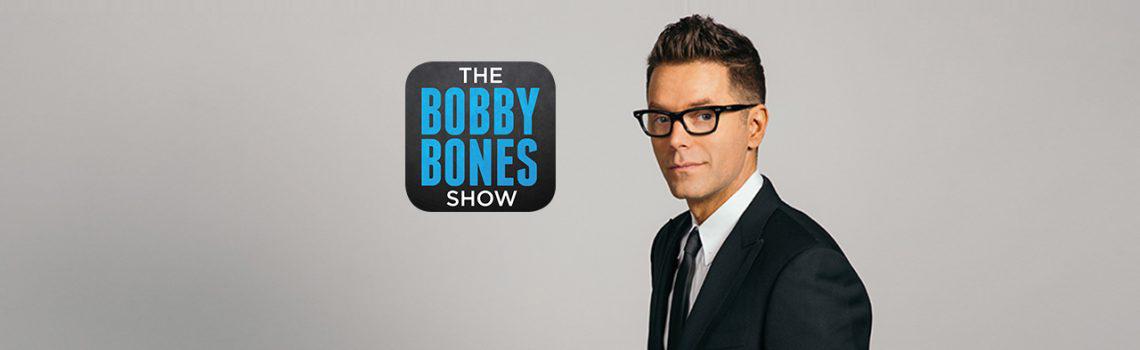 Mason Ramsey in the Bobby Bones Studio