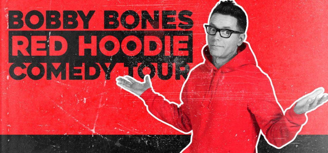 Bobby Bones Red Hoodie Comedy Tour