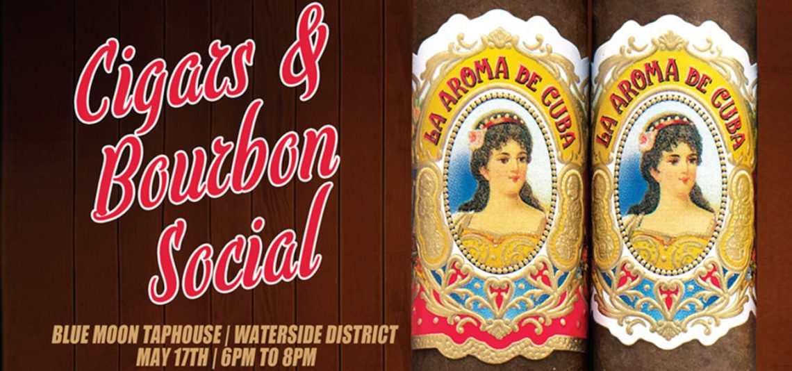 La Aroma De Cuba Cigars and Bourbon