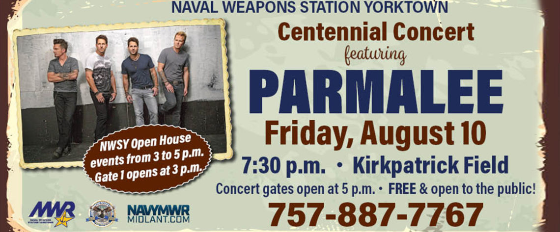 Free Parmalee Concert & Open House