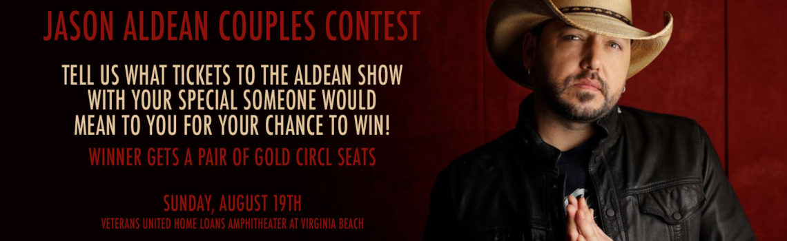 Jason Aldean Couples Contest