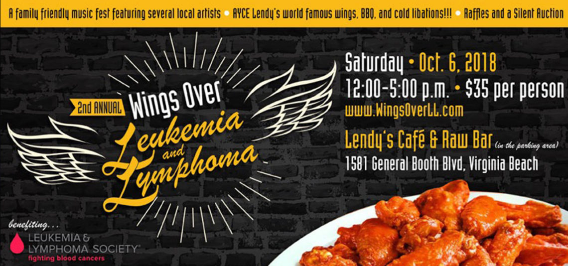 2nd Annual Wings Over Leukemia and Lymphoma