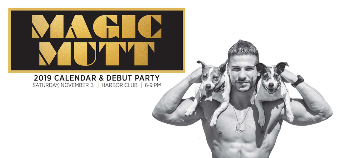 2019 Magic Mutt Calendar and Debut Party
