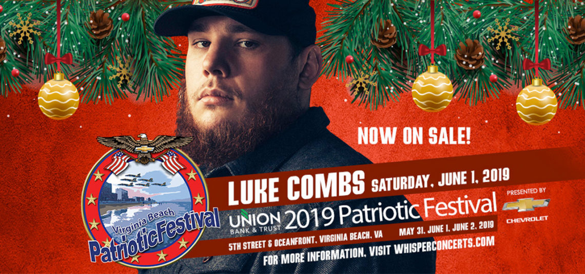 Patriotic Festival: Luke Combs