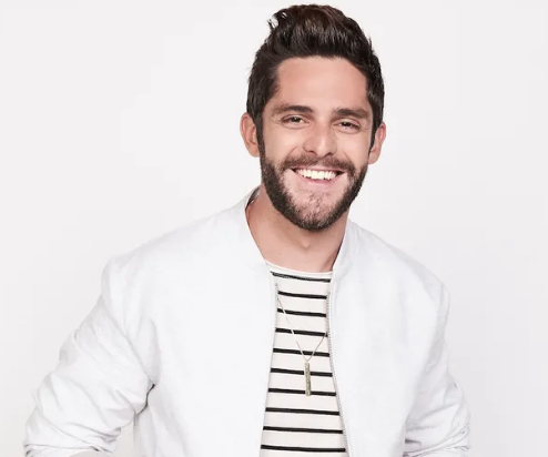 Thomas Rhett with Dustin Lynch, Russell Dickerson, and Rhett