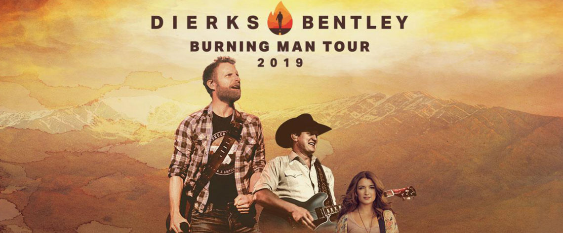 Dierks Bentley with Jon Pardi and Tenille Townes