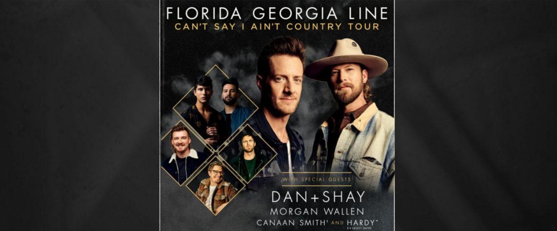 2019 Country Mega Ticket presents: Florida Georgia Line with Dan + Shay, Morgan Wallen, and Hardy