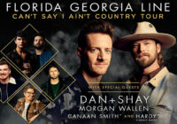 2019 Country Mega Ticket presents: Florida Georgia Line with Dan + Shay, Morgan Wallen, and Hardy