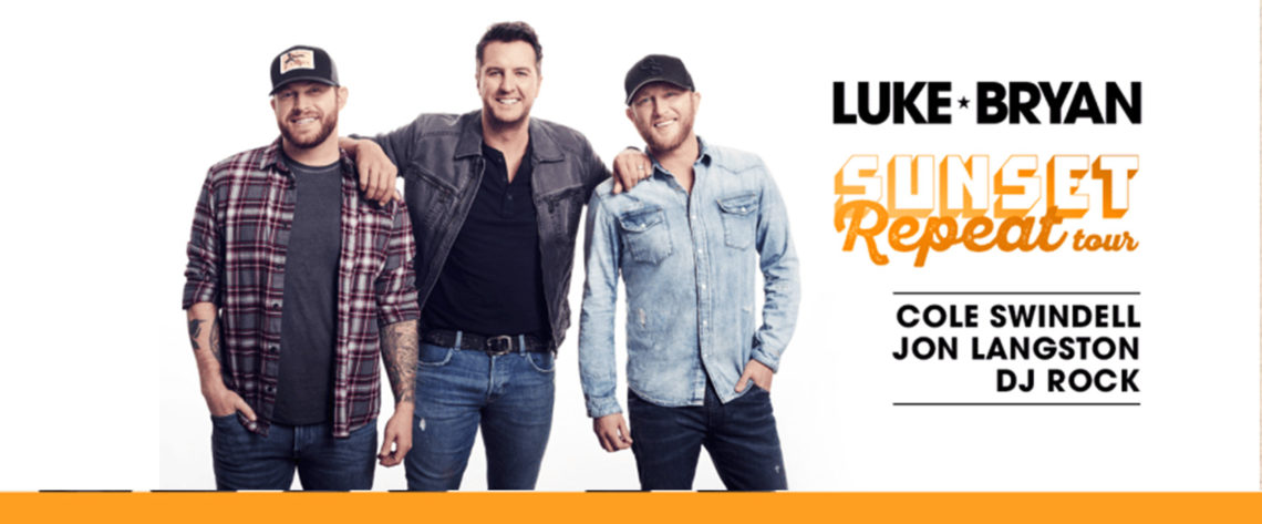2019 Country Mega Ticket presents: Luke Bryan with Cole Swindell and Jon Langston