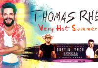 Thomas Rhett with Dustin Lynch, Russell Dickerson, and Rhett Atkins