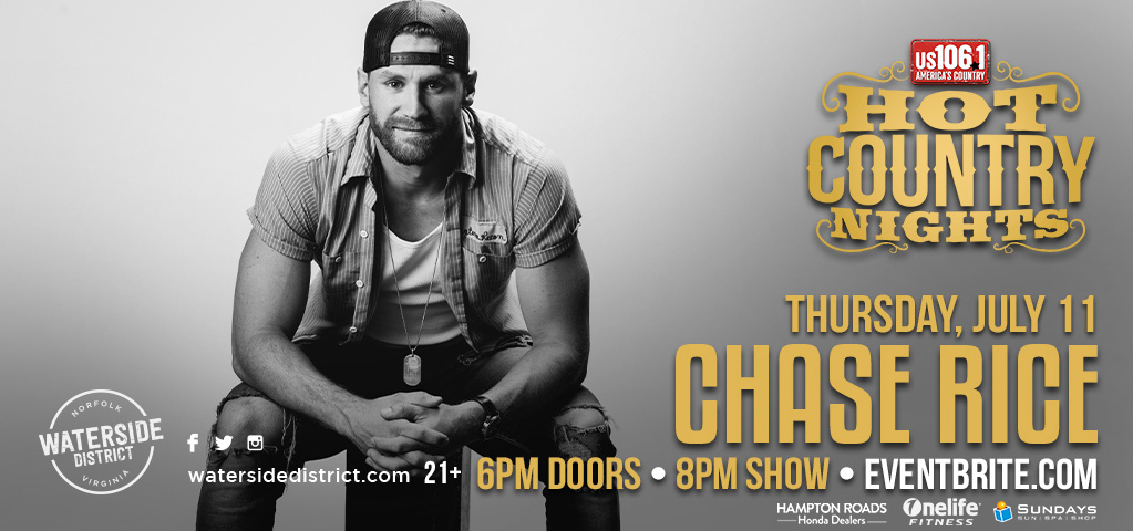 Hot Country Nights: Chase Rice with Thompson Square
