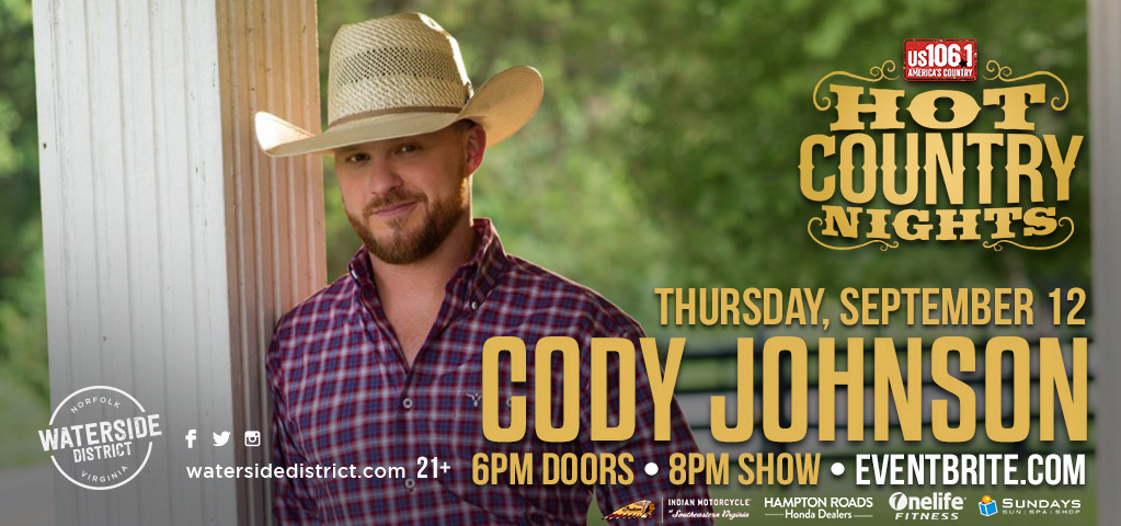 Hot Country Nights: Cody Johnson