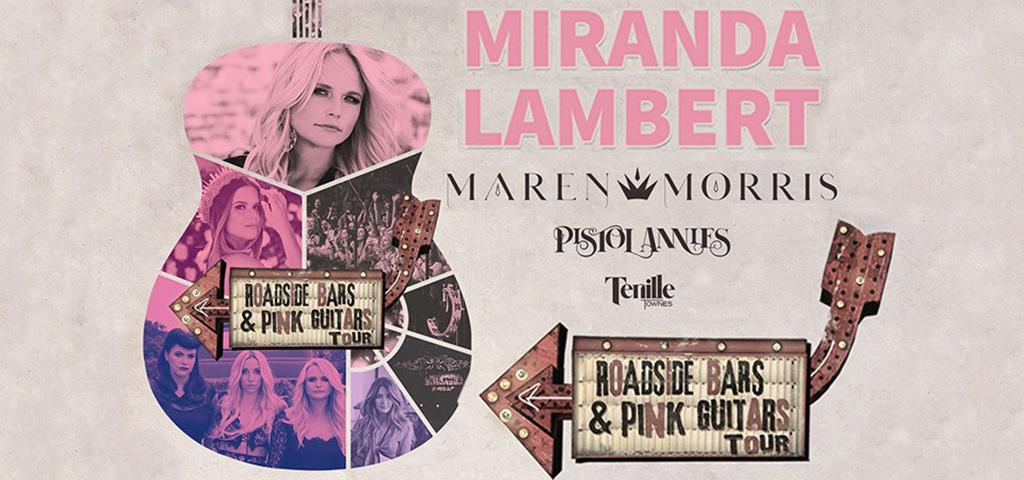 Miranda Lambert with Maren Morris, Pistol Annies, and Tenille Townes