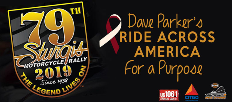 Dave's Ride Across America for a Purpose