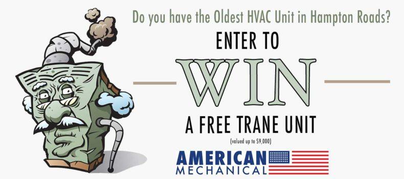 Enter to Win a Free Trane Unit
