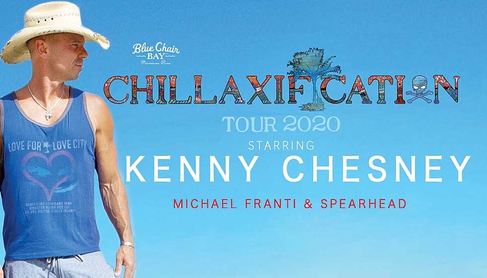 **POSTPONED** Kenny Chesney with Michael Franti & Spearhead
