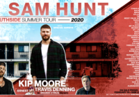 Sam Hunt with Kip Moore & Travis Denning