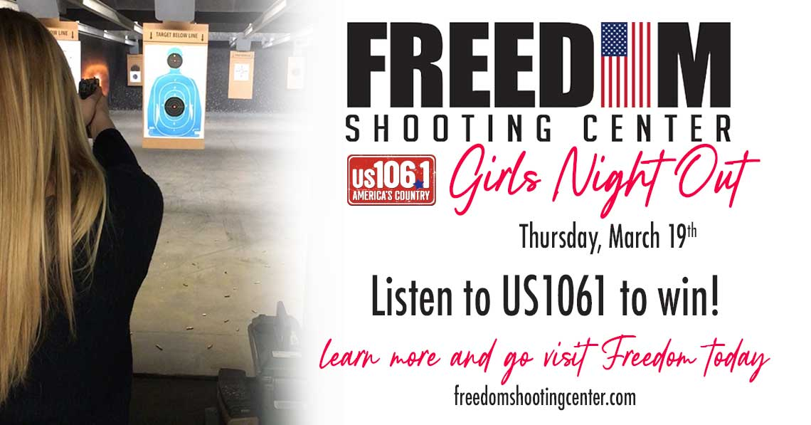 Emily's Girls Night Out at Freedom Shooting Center