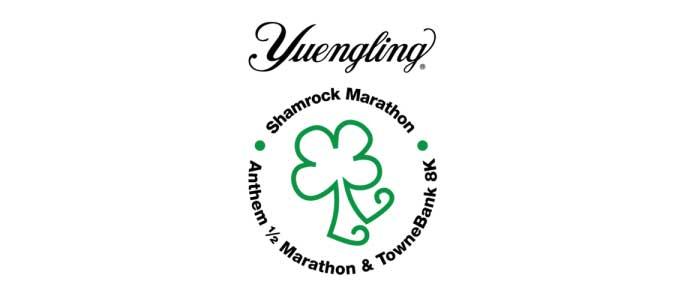 The Yuengling Shamrock Marathon Weekend:  Half Marathon & Marathon