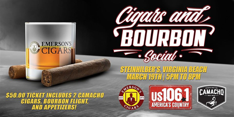 Emersons Cigars kicks of the Cigars and Bourbon Social