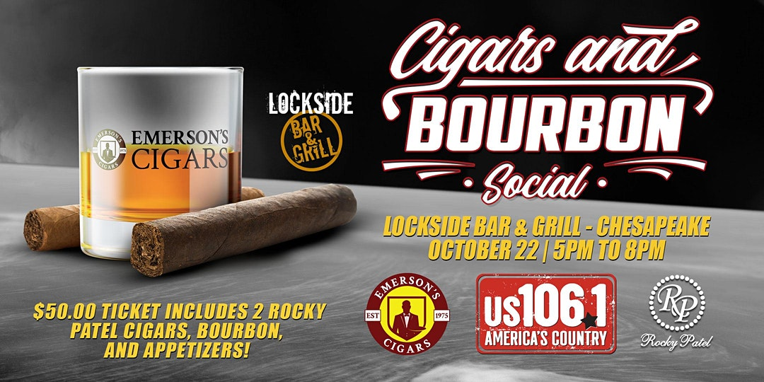 Rocky Patel Cigars And Bourbon Social