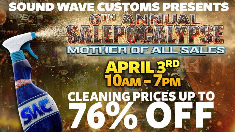 Soundwave Customs Salepocalypse