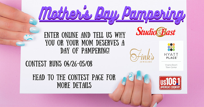 """Win a Mother's Day """"Day of Pampering"""""""