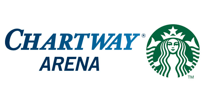 Chartway Arena Starbucks Giveaway
