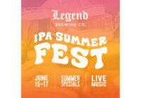 Legend Brewing Company IPA Summerfest