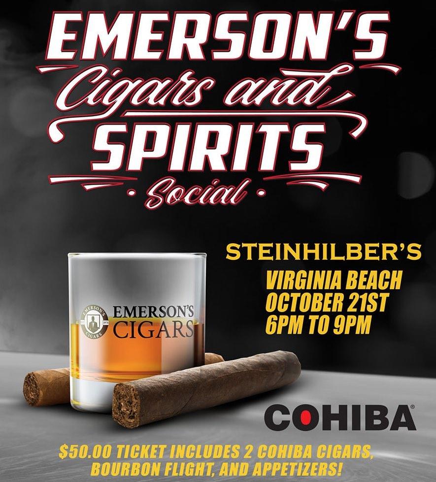 Emerson's Cigar and Spirits Social